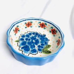NWT Anthropologie Hand Painted Dish